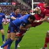 VIDEO. 6 nations. Yoann Huget renvoie Liam Williams au Pays de Galles avec un �norme plaquage offensif
