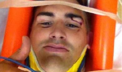 Toby Flood à l'hôpital après un coup de coude de Dan Tuohy