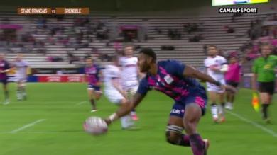 RÉSUMÉ VIDÉO. TOP 14. Le Stade Français fait exploser Grenoble et s'offre le fauteuil de leader (54-20)
