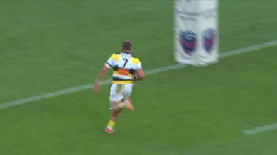 VIDEO. Top 14 : le magnifique essai de 100M du Stade Rochelais face à Grenoble