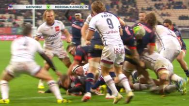 VIDEO. Top 14 : fallait-il accorder l'essai de Grenoble face à l'UBB ?