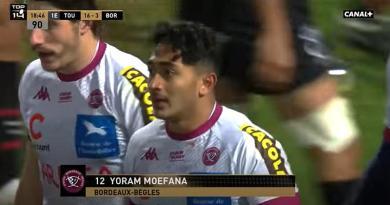 Top 14 - UBB. Touché contre Toulouse, Yoram Moefana absent plusieurs mois