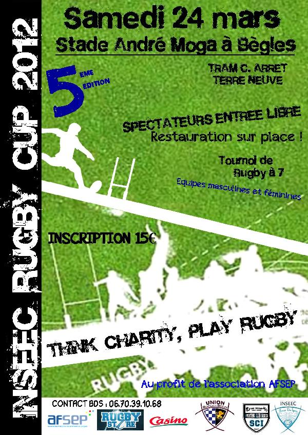 Tournoi de rugby à 7 à Bègles !
