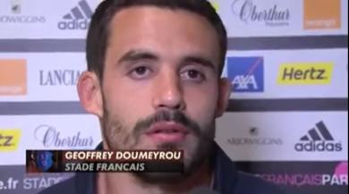 TRANSFERT. Geoffrey Doumayrou quitte le Stade Français pour la Rochelle