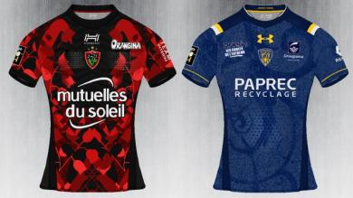 PHOTOS. Un graphiste imagine les futurs maillots de rugby pour la saison 2017/2018