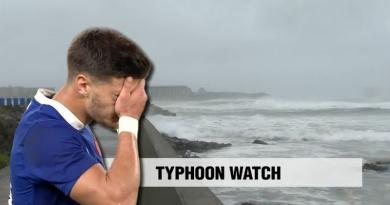 Un typhon va-t-il priver les Bleus d'une potentielle victoire bonifiée face aux USA ?