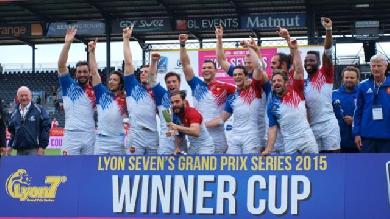 VIDÉO. Une nouvelle victoire et des beaux essais pour les Bleus au Lyon Seven's Grand Prix