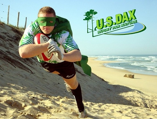 Environne-Man : Une campagne Web plutôt sympa pour l'US Dax