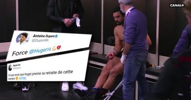 Vague d'émotions sur les réseaux sociaux après la blessure de Yoann Huget