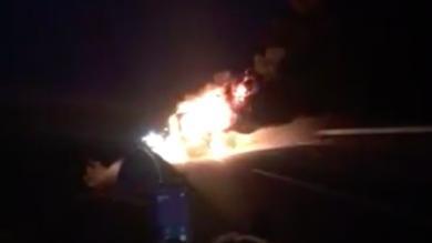 Vidéo. Espoirs. Lors du retour de Clermont, le bus de l'USAP a pris feu !