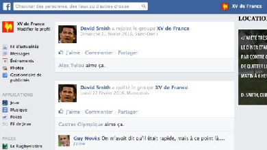 VI Nations. Le mur Facebook du XV de France de Guy Novès, épisode 3