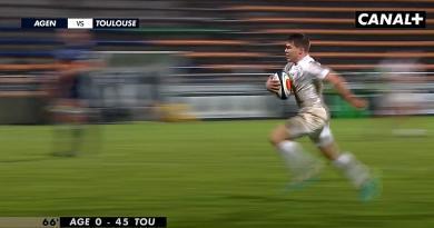 VIDEO - Top 14. Record d'essais pour Toulouse et de défaites pour Agen