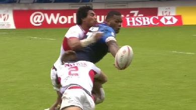 VIDEO. Paris 7s. Virimi Vakatawa éclipse SBW lors de la qualification de France 7 en Cup