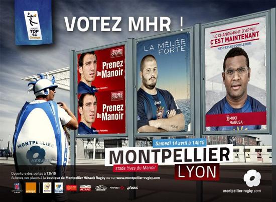 Le MHR est en campagne