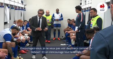 XV de France. Plongez dans la peau d'un joueur avec le discours entraînant de Fabien Galthié [VIDÉO]