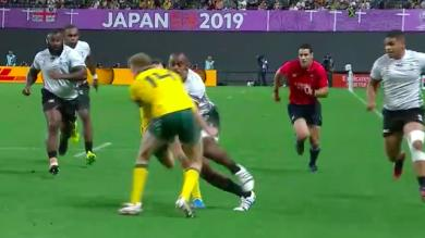 Australie - Suspendu, Reece Hodge dit au revoir aux matchs de poules
