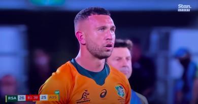 VIDEO - 4 ans après sa dernière cape, Quade Cooper donne la victoire à l'Australie !