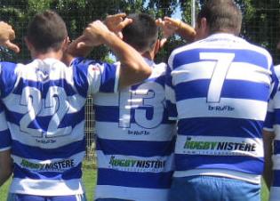 Ils ont décidé de mettre le Rugbynistère sur leurs maillots... Merci à eux !